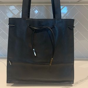 Gucci leather tote/shoulder bag black authentic